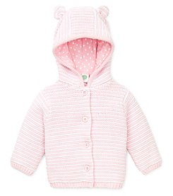 Little Me® Baby Girls' Hooded Bear Cardigan