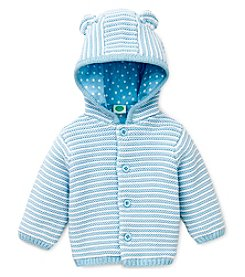Little Me® Baby Boys Hooded Bear Cardigan