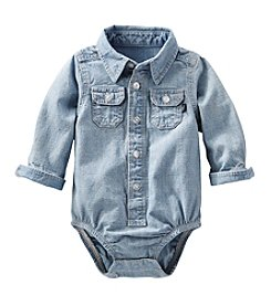 OshKosh B'Gosh® Baby Boys Chambray Bodysuit