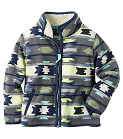 Carter's® Baby Boys Full-Zip Geo Jacket