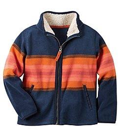 Carter's® Baby Boys Full-Zip Striped Jacket