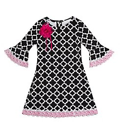 Rare Editions® Girls' 4-6X Printed Dress