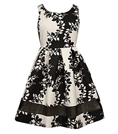 Bonnie Jean® Girls' 7-16 Floral Fit And Flare Dress