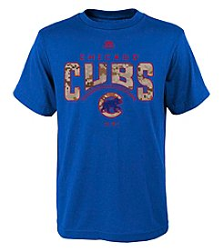 Majestic Boys' 8-20 MLB® Cubs Digi Camo Short Sleeve Tee