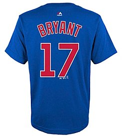 Majestic Boys' 8-20 MLB® Cubs Kris Bryant Player Short Sleeve Tee