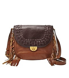Fossil® Emi Large Saddle Bag Crossbody