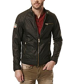 Buffalo by David Bitton Men's Jailon Faux Leather Jacket