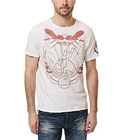 Buffalo by David Bitton Men's Nalok Short Sleeve Screen Tee