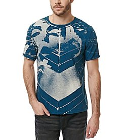 Buffalo by David Bitton Men's Nagram Short Sleeve Graphic Tee