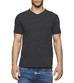 Calvin Klein Jeans® Men's Short Sleeve Modern Basic Slub V-Neck Tee