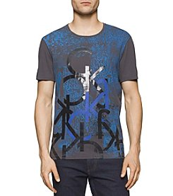Calvin Klein Jeans® Men's Layered Graphic Short Sleeve Tee