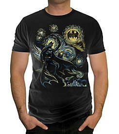 DC Comics® Men's Abstract Batman Short Sleeve Tee