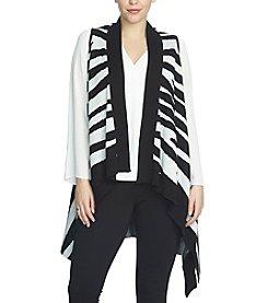 Chaus Jacquard Sweater Vest