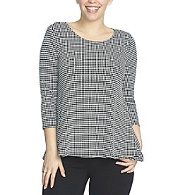 Chaus Mini Check Top