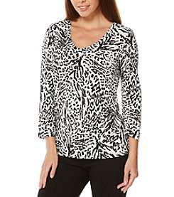 Rafaella® Animal Print Top
