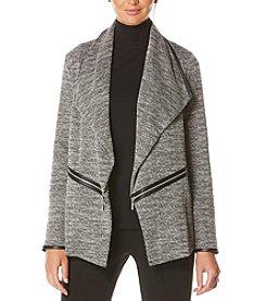 Rafaella® Zipper Detail Menswear Blazer