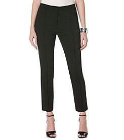 Rafaella® Zip Ankle Twill Pants