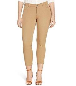 Lauren Ralph Lauren® Plus Size Stretch Twill Skinny Pants