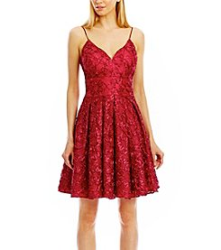 Nicole Miller New York Sleeveless Soutache Party Dress