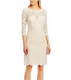 Nicole Miller New York™ Lace Dress With Tie Back