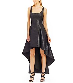 Nicole Miller New York™ Textured High Low Dress