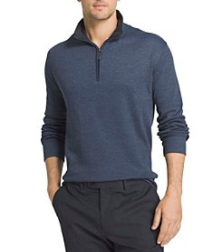 Van Heusen® Men's Big & Tall Long Sleeve Spectator Long Sleeve 1/4 Zip Knit