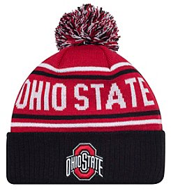 J. America® NCAA® Ohio State Buckeyes End Around Pom Knit Hat