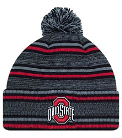 J. America® NCAA® Ohio State Buckeyes Dark Invader Pom Knit Hat