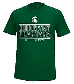 J. America® NCAA® Michigan State Spartans Men's Choice Short Sleeve Tee