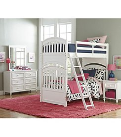 Legacy Classic Kids White Academy Youth Bunk Bed Collection