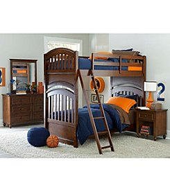 Legacy Classic Kids Cinnamon Academy Youth Bunk Bed Collection