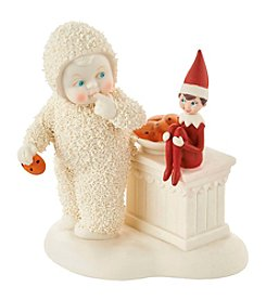 Department 56® Snowbabies Elf On Shelf Guards Cookies