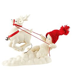 Department 56® Snowbabies Reigning My Reindeer