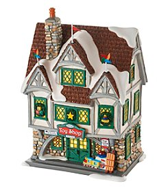 Department 56® Elf Village Santa's Toy Shop