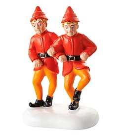 Department 56® Elf Village The Twin's Happy Dance