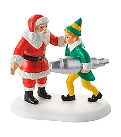 Department 56® Elf Village Buddy Salvages Kringle 3000