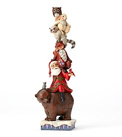 Heartwood Creek® by Jim Shore Stacked Santa With Animals
