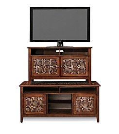 Whalen Furniture Dorado Glass Tile TV Console