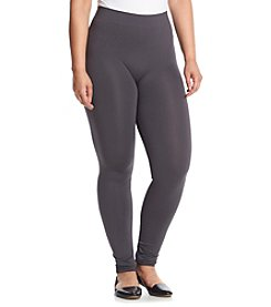 Pink Rose® Plus Size Seamless Capri Leggings