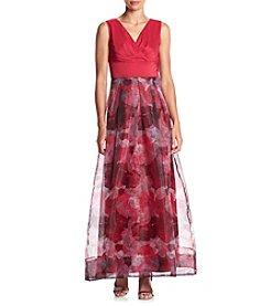 Sangria™ Printed Ballgown