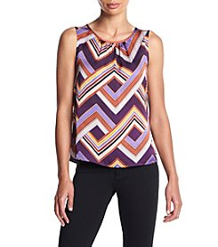 Nine West® Geometric Blouse
