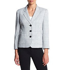 Nine West® Grid Print Blazer