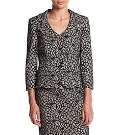 Kasper® Bonded Lace Jacket