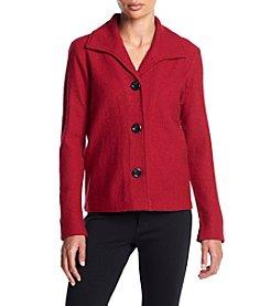 Kasper® Boiled Wool Jacket