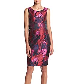 Kasper® Jacquard Sheath Dress