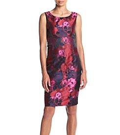 Kasper® Jacquard Sheath Dress