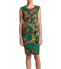 Kasper® Scuba Crepe Dress