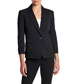 Nine West® Ruched Sleeve Jacket
