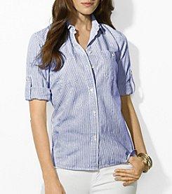 Lauren Ralph Lauren® Roll-Sleeve Shirt