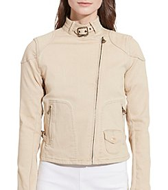 Lauren Ralph Lauren® Stretch Denim Moto Jacket